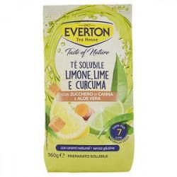 Preparato solubile per tè EVERTON limone lime curcuma 560gr