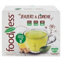 Capsule The compatibili Dolce Gusto FOODNESS zenzero e limone 120gr conf. da 10 capsule