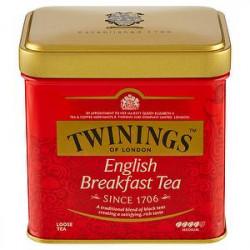Thè TWININGS english breakfast lattina da 100gr