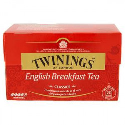 English Breakfast tea TWININGS 40gr conf. da 20 filtri