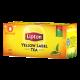 Yellow label tea 50 filtri