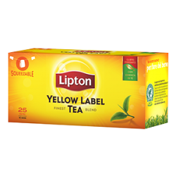 Yellow label tea 50 filtri