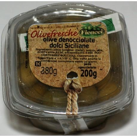 Olive denocciolate dolci siciliane 200 gr