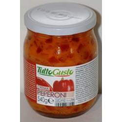Crema di peperoni 580 gr
