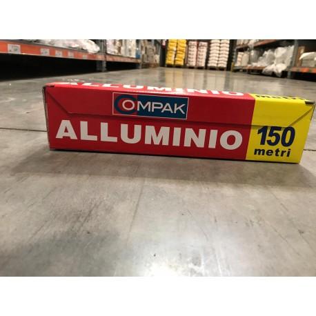 pellicola alluminio compaq 150 mt