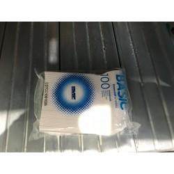 cucchiaini plastica caffè 100pz