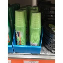 bicchieri verdi 50pz