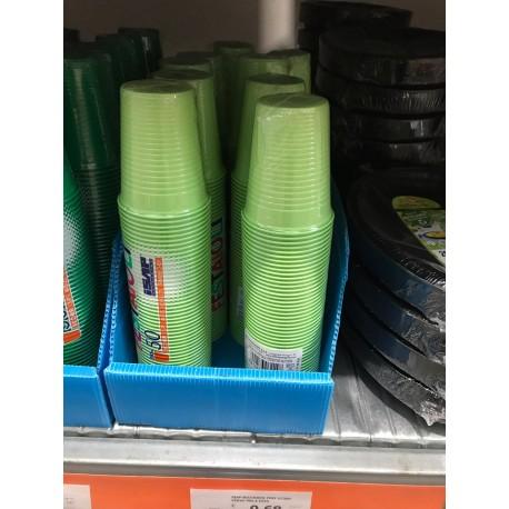 bicchieri verdi 250pz