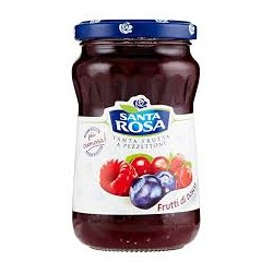 confettura frutti di bosco santa rosa 350 gr